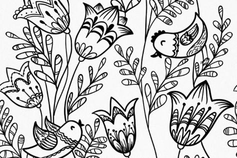 The New Coloring Book Trend