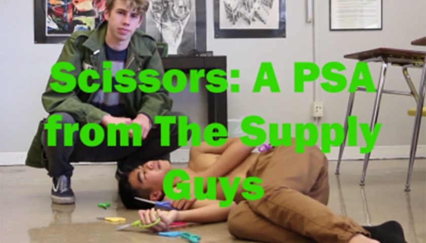 Scissors: a PSA by The Supply Guys