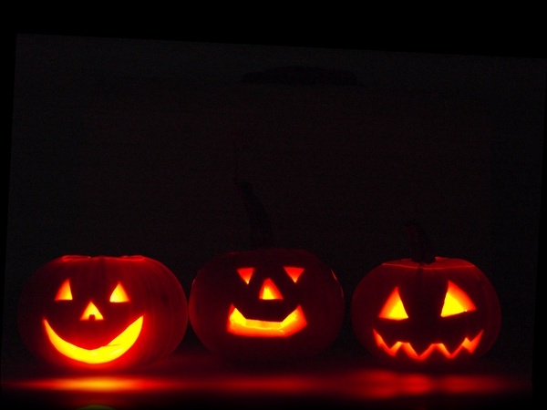 Every year people dress up, go trick-or-treating, go to haunted houses, and carve pumpkins on Halloween.