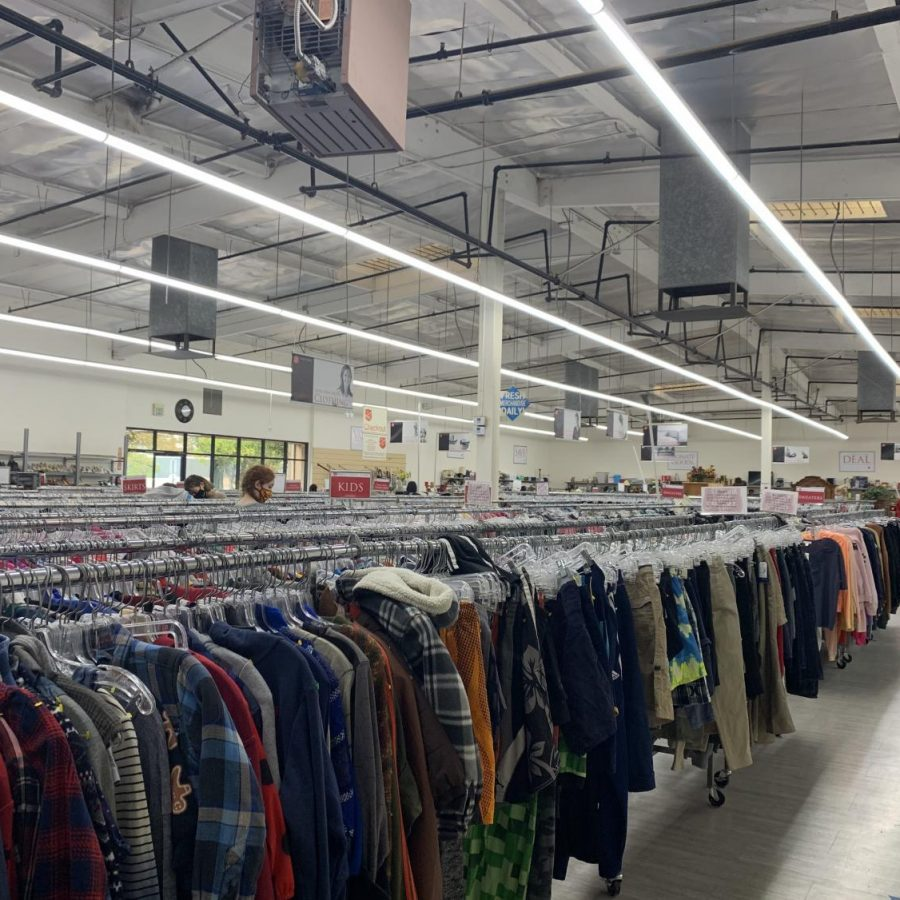 Second-hand shopping is not only great for your wallet but also for the environment. Shopping at thrift stores helps reduce the toxic waste in landfills which pollute our planet.