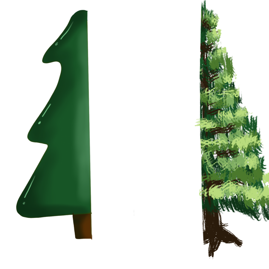 Pine or Plastic?